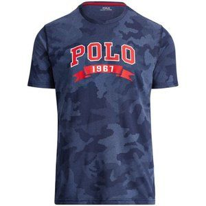 NWT Navy Camo Polo Ralph Lauren Performance Shirt